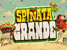 Играйте в игровом зале в уникальный игровой слот Spinata Grande